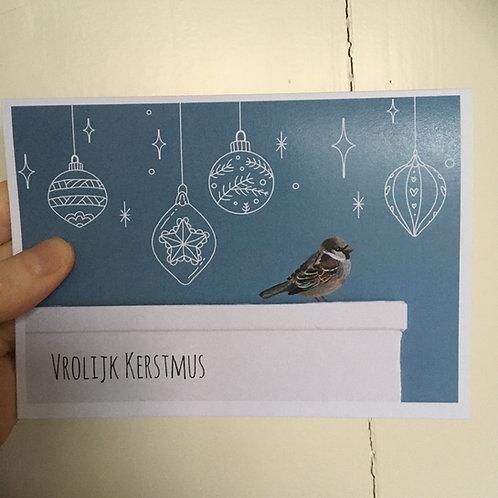 Cadeaubon: Vrolijk Kerstmus