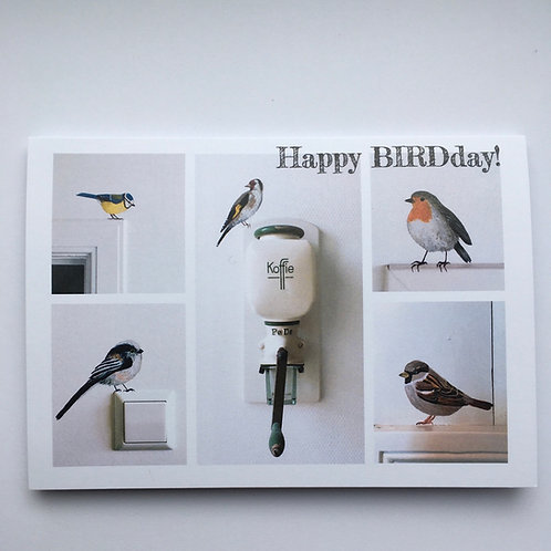 Cadeaubon: Happy BIRDday