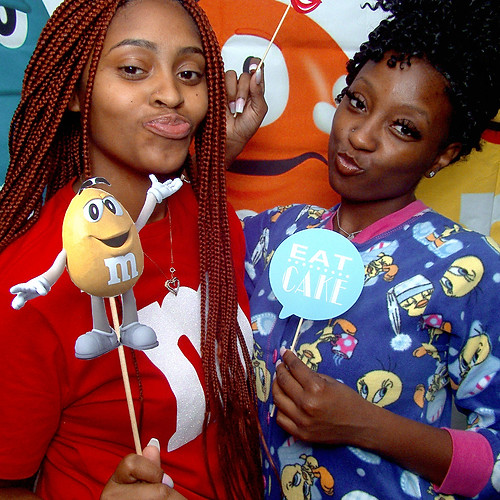 M&M/Pajama B'Day Party