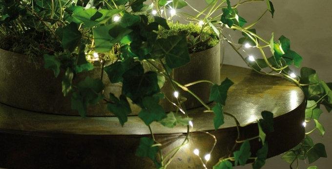 Grande guirlande lumineuse goutte 160 LED 16m