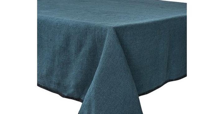 Serviette de table  Letia 41 x 41 cm bleu de prusse