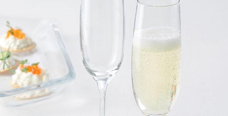 Coffret 6 flûtes à champagne CIAO+ - Leonardo