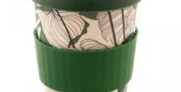 Mug de voyage bambou vert Jungle