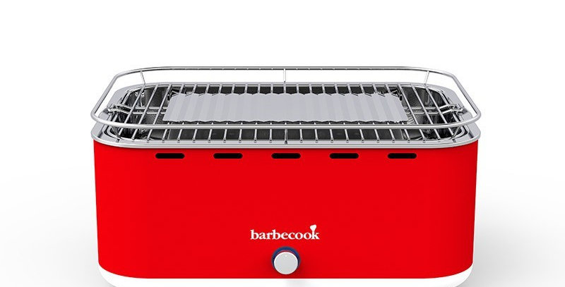 Barbecue Portable BARBECOOK, CARLO  rouge