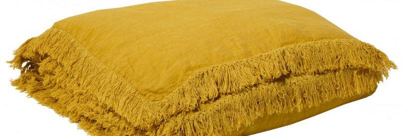 Edredon Snob curry 90 x 190 cm