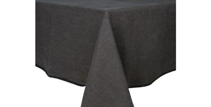 Serviette de table  Letia 41 x 41 cm charbon