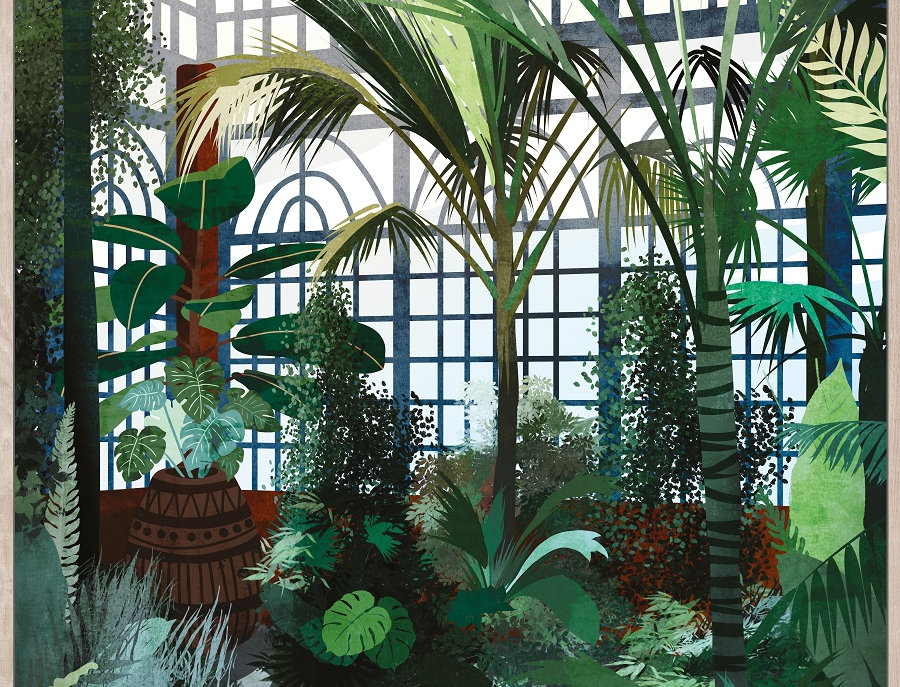 Tableau Green house I