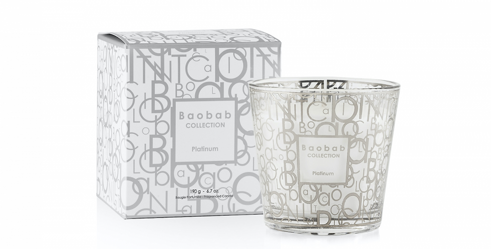 Bougie My First Baobab Exclusives Platinum