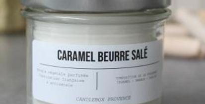 Bougie Caramel au Beurre Salé