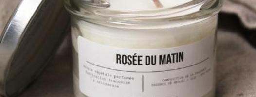 Bougie Rosée du Matin