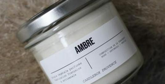 Bougie Ambre
