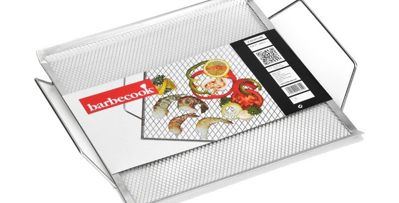 Grille alimentaire inox 31x31 - Barbecook