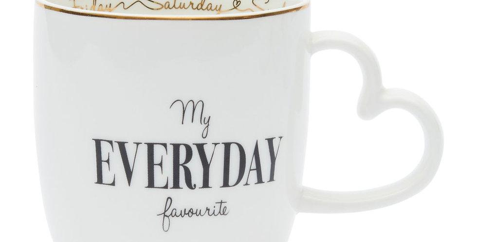 "Mug "" My evreyday favourite"""