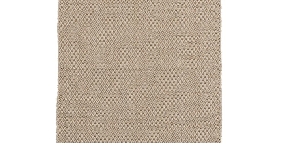Tapis jute/coton Losanges écru/naturel