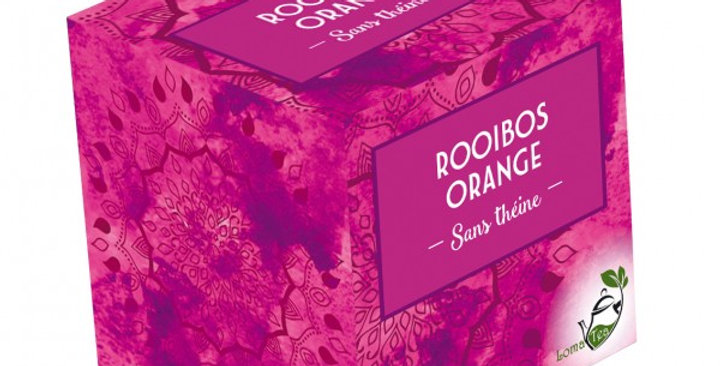 Rooibos Orange -  20 Infusettes pyramides