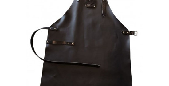tablier ofyr cuir noir