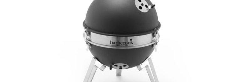 Barbecue au charbon de bois BARBECOOK Billy, Noir