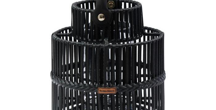 Lanterne d'extérieur Bartolomé noire