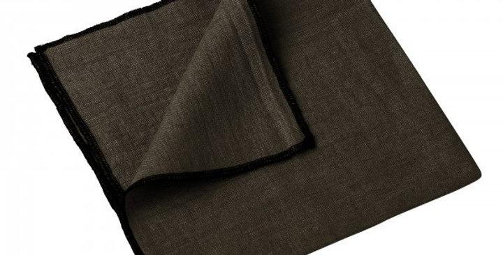 Serviette de table  Letia 41 x 41 cm brownie