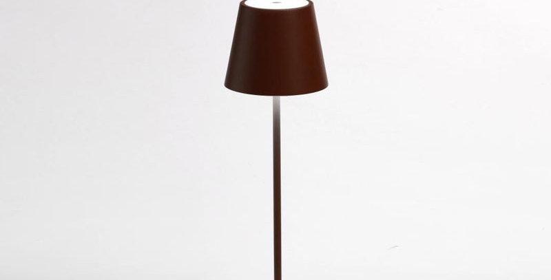 Lampe à Led rechargeable Poldina mini pro marron