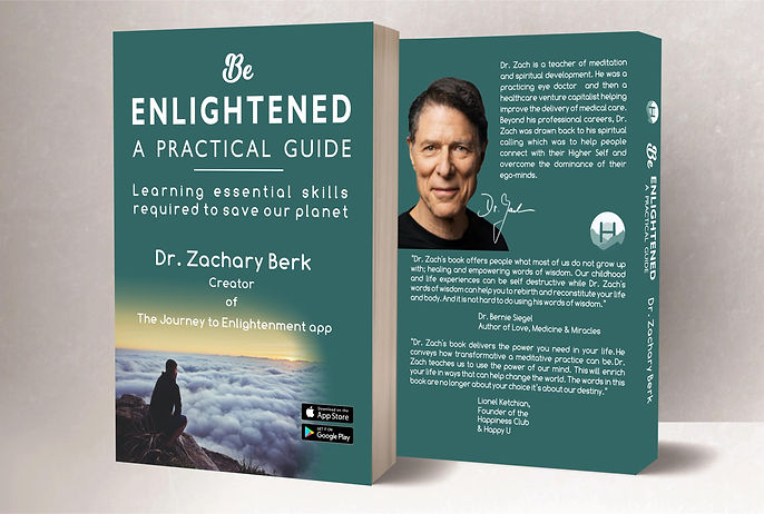 Front & Back Covers of Be Enlightened.jp