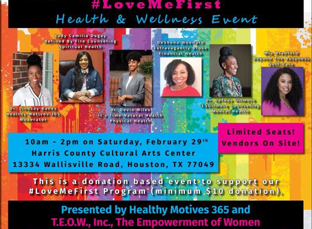 February Love Me First event