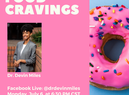 Facebook Live Event: Food Cravings