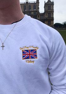 Britannia Sweatshirt (White)