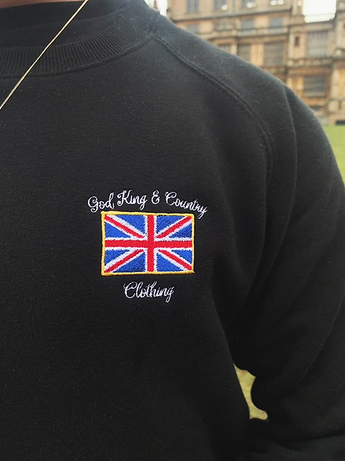Britannia Sweatshirt (Black)
