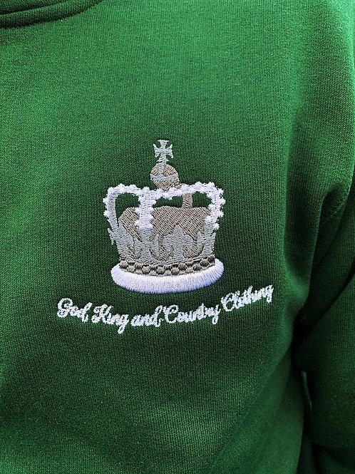 Quarter Zip Fleece (Green)