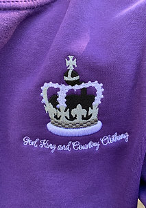 Sweatshirt (Purple)