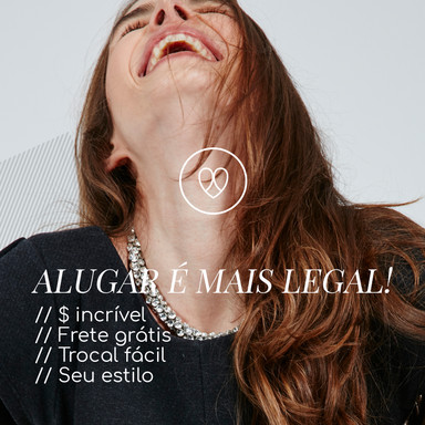 Alugar é mais legal!