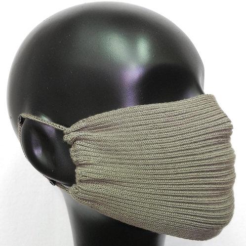 Máscara de tricô militar