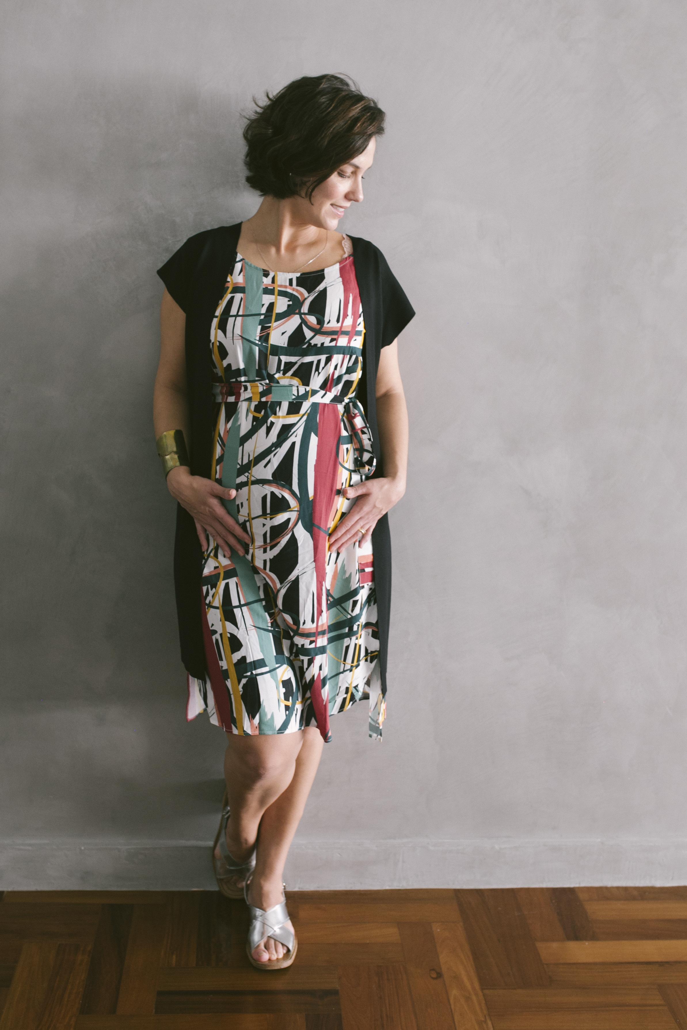 vestido panou artsty