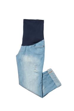 calça jeans elástico