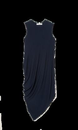 vestido peso azul