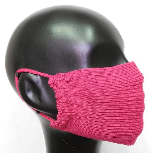 Máscara de tricô pink