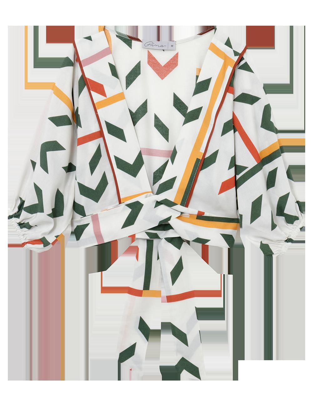 Mini kimono print