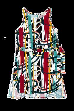 vestido artsy panou