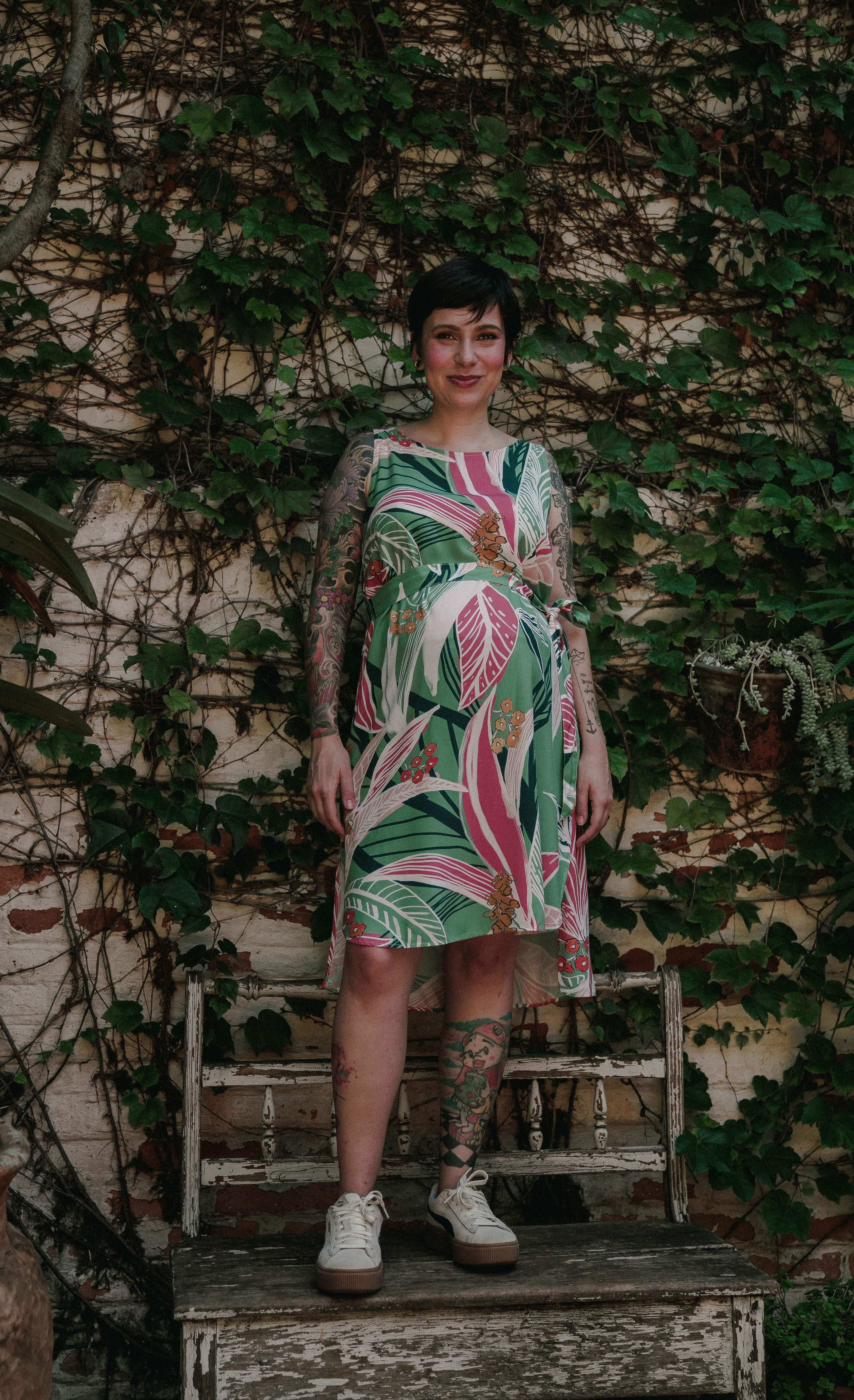 Vestido Panou Tropical