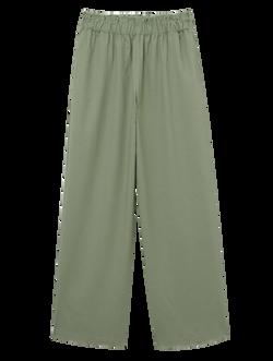 Calça linho verde
