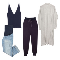 kit aluguel roupas de grávida comfy