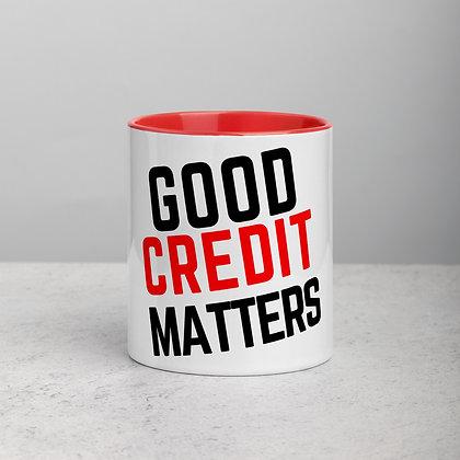 Good Credit Matters - Black & Red
