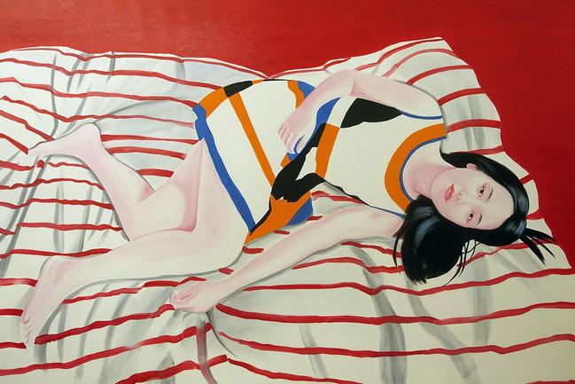 Sueching 2017 huile sur toile /oil on canvas 102x153 cm