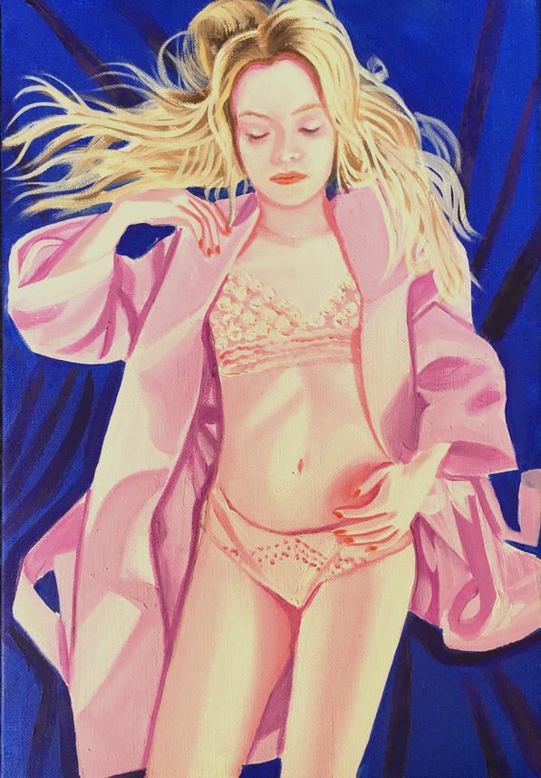 Anais 2020 huile sur toile / oil on canvas 35x24 cm