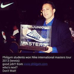 Philgym students won Nike international masters tour 2013 (tennis)_good job!!! from www.philgym