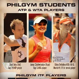 Philgym Aademy has developed a special complex of 10 exercises , to improve serve (min 15 mph, withi