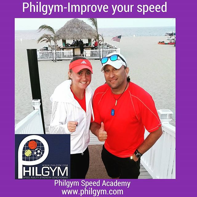 Philgym camp before US Open Come on!  Alexandra Sasnovich (top-100 WTA) 💪🎾🏃⚽👍 Good News in Philg