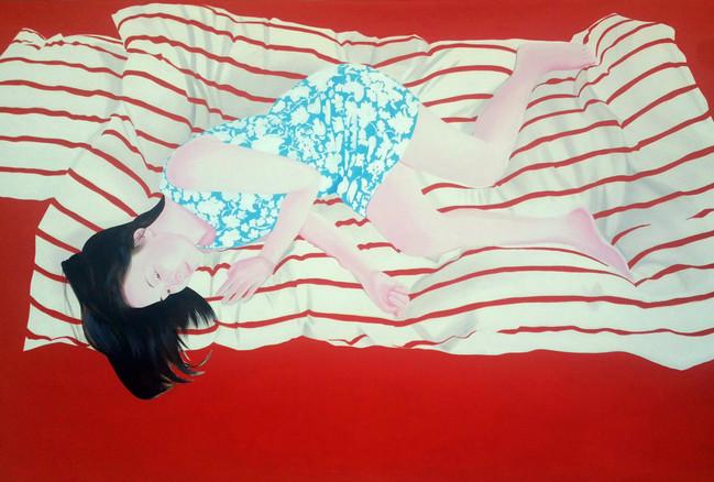 Sueching 2016 huile sur toile /oil on canvas 130x195cm