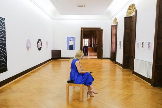 The artist and the model, Muzeul de ARTA, Timisiora, 2019